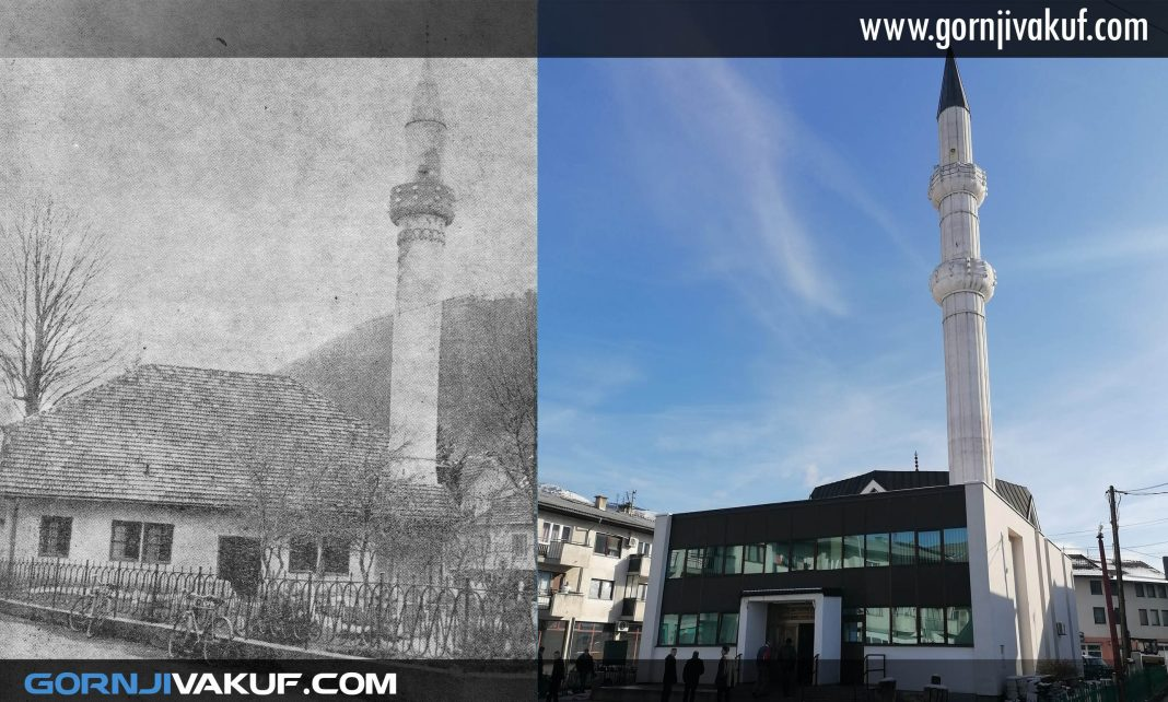 Džamija Mehmed-bega Stočanina 1969. i 2019. godine